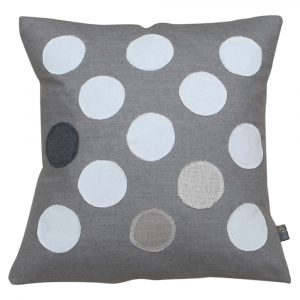 neutral polka dot