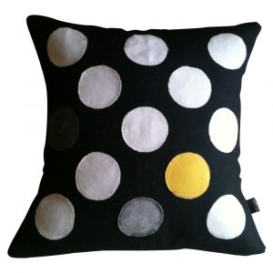 blk-white'canary polka dot