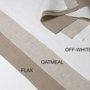 linen tea towels flax oatmeal off white